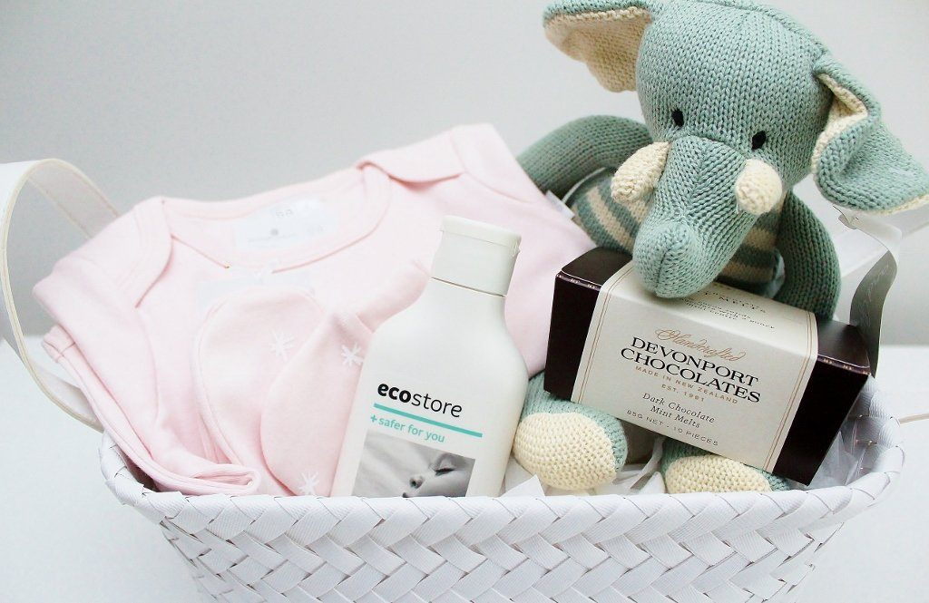 Babu Baby Basket with Boy or Girl Options | Newborn Baby Gift | The Gift Loft (NZ)