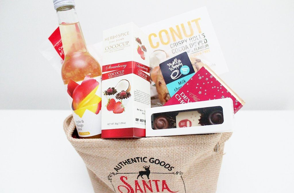 Gluten Free Merry Christmas Gourmet Food Hamper | Gluten Free Gift Food Hamper |  The Gift Loft (NZ)