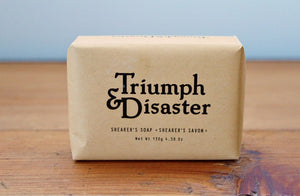 Triumph & Disaster Shearer's Soap | Gift for Men | The Gift Loft (NZ)