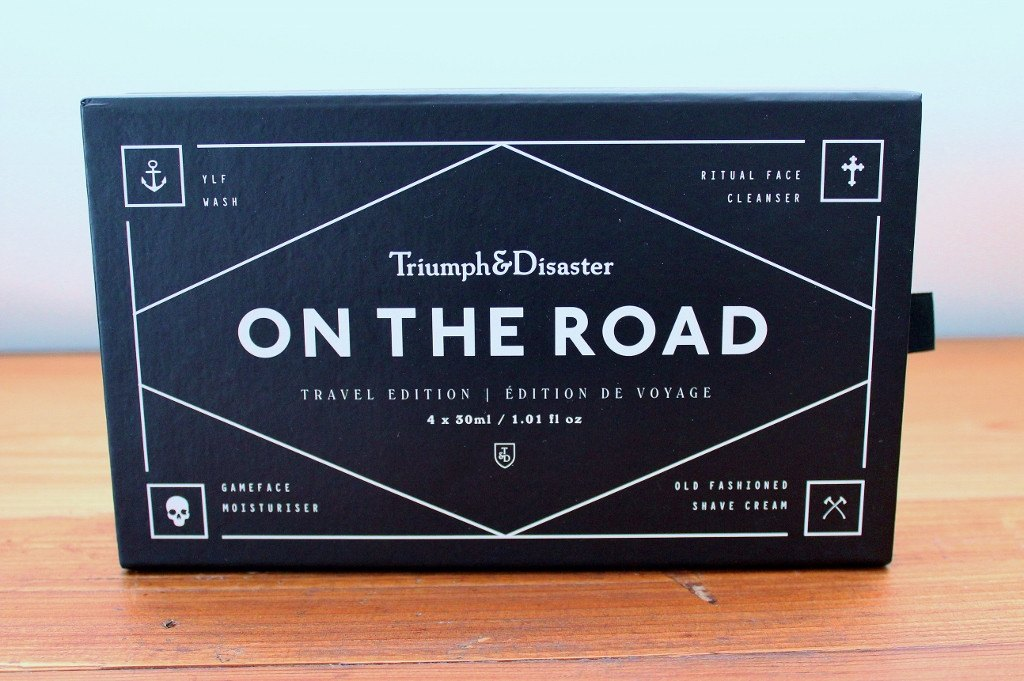 Triumph & Disaster Travel Grooming Essentials for Him | Birthday Gift for Father | The Gift Loft (NZ)
