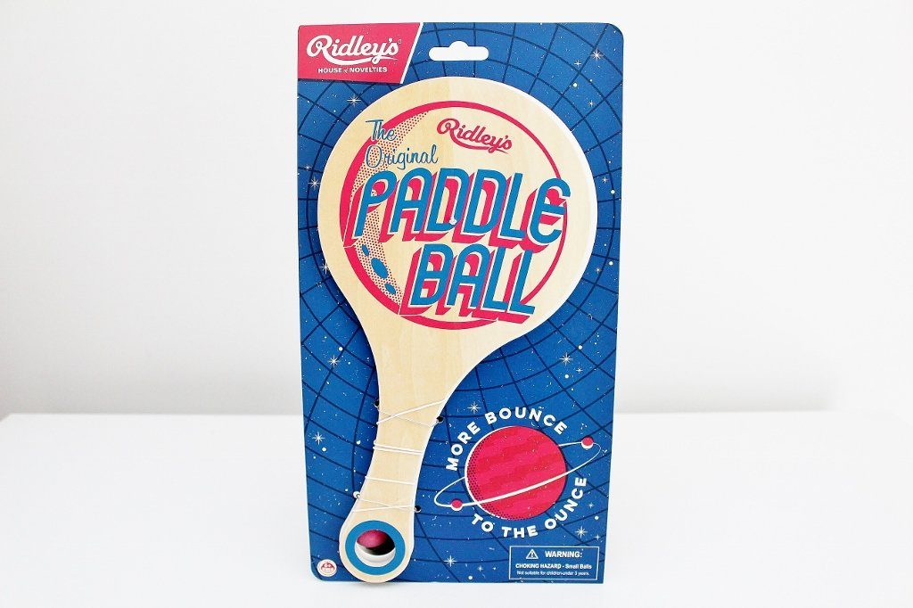 Ridley's Original Paddle Ball | Christmas Gift for Grandchild | The Gift Loft (NZ)