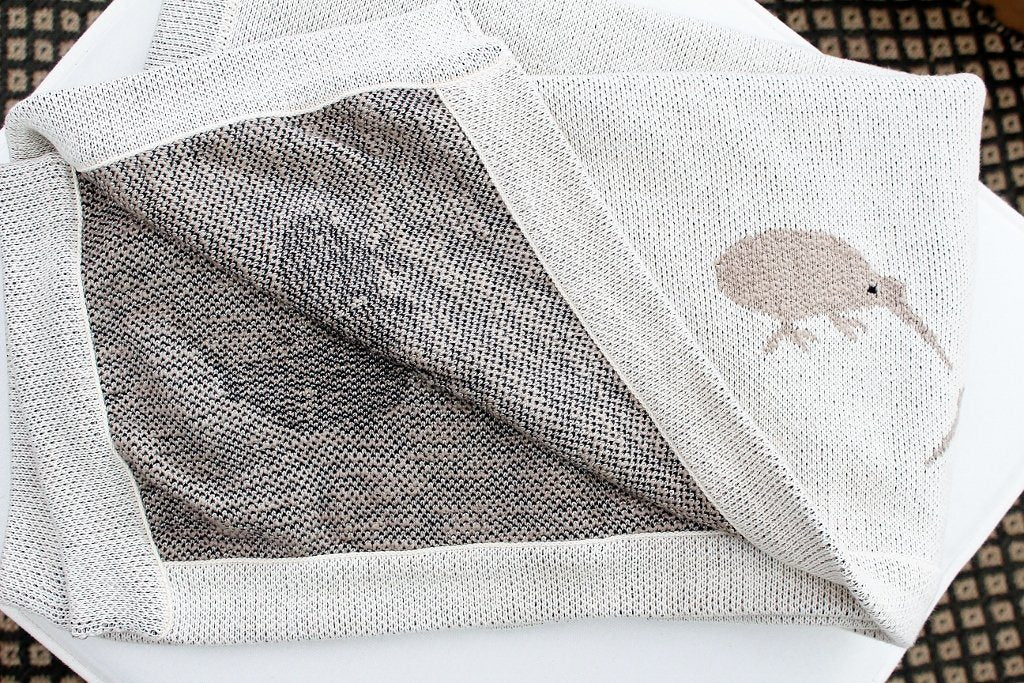 CC Interiors Little Kiwi Baby Blanket | Baby Shower Gift Idea | The Gift Loft (NZ)