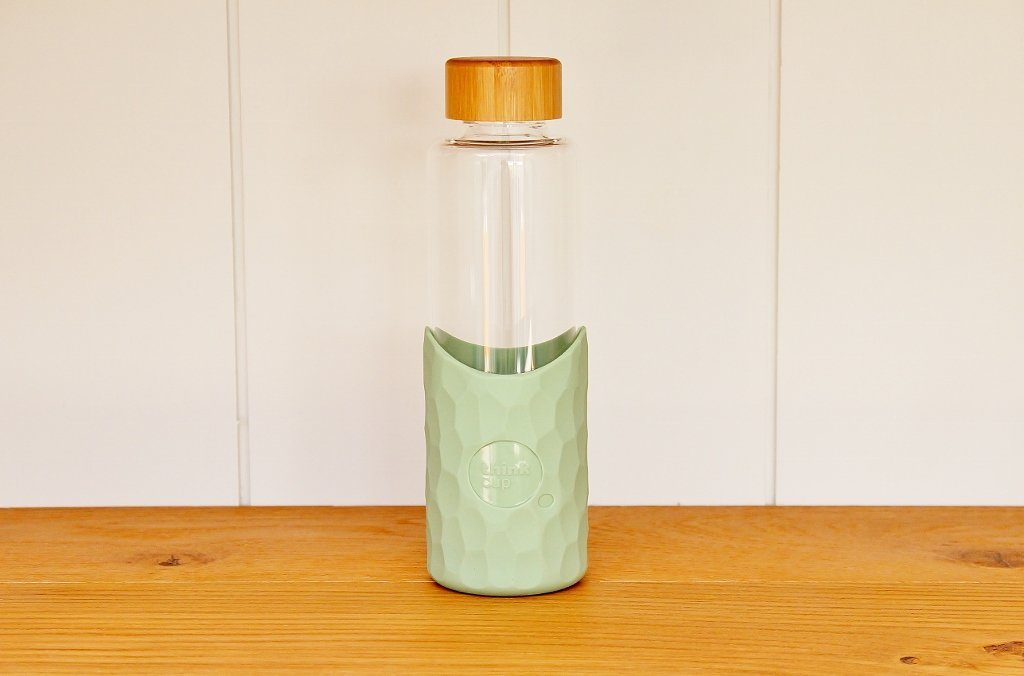 Think Glass Drinking Bottle - Cactus | Eco Friendly | Summer Gift Idea | The Gift Loft (NZ)
