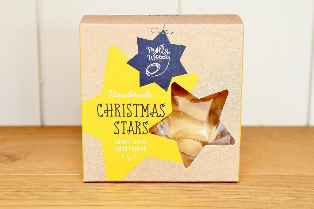 Molly Woppy Star Christmas Shortbread | Christmas Gift | The Gift Loft (NZ)