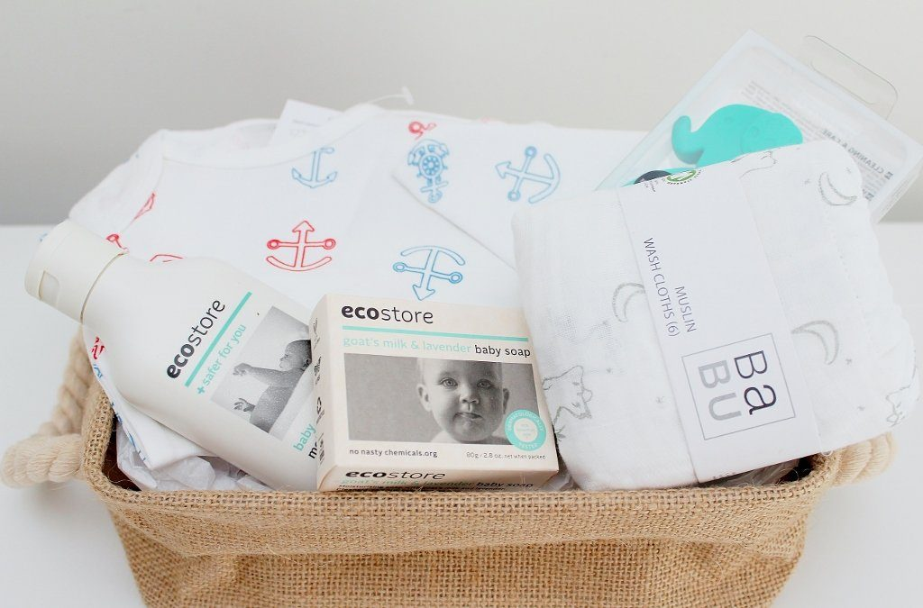Babu Summer Newborn Baby Gift Basket | Baby Boy Gift Idea | The Gift Loft (NZ)