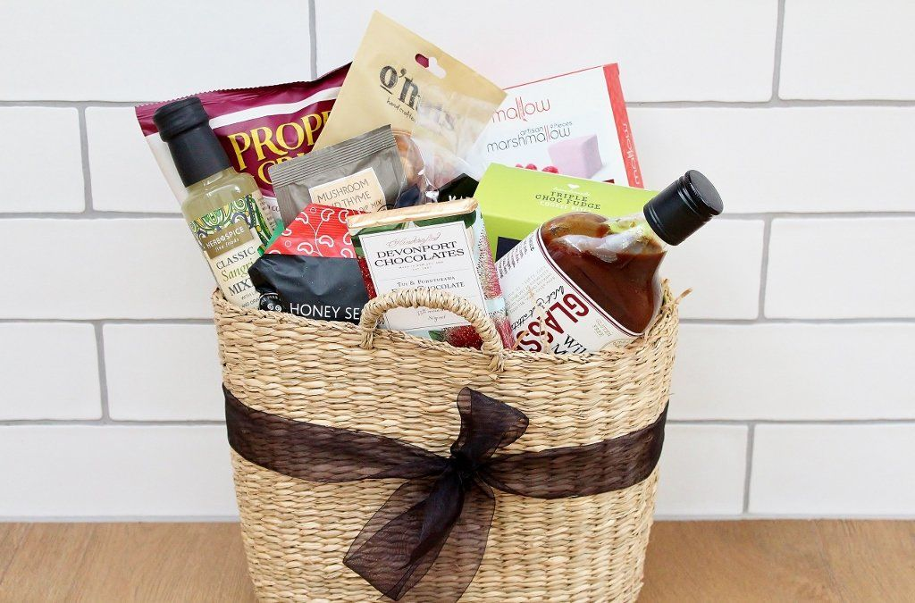 Gourmet Sweet & Savoury Gift Basket | Picnic Basket Gift Idea | The Gift Loft (NZ)