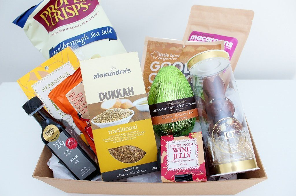 Easter Food Hamper and Mr Chocolate Bunny | Easter Gift Idea | The Gift Loft (NZ)