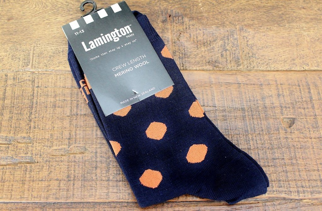 Merino Wool Socks & Treats for Him Gift Pack | Funky Gift for Men  | The Gift Loft (NZ)