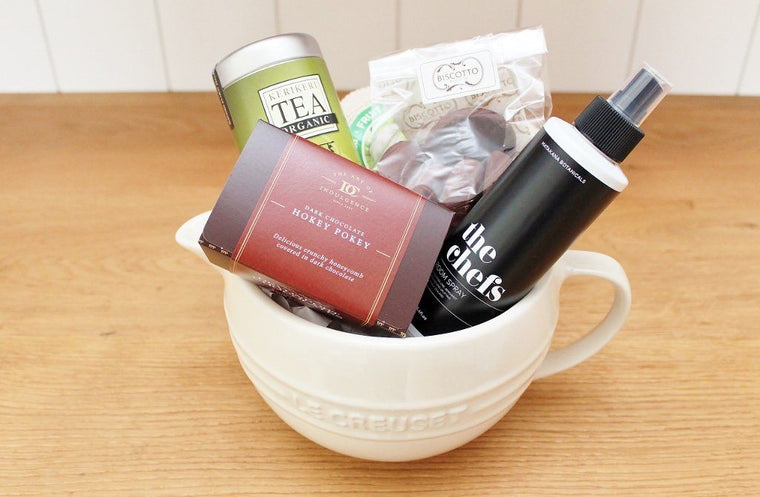 Le Creuset Mixing Bowl & Kitchen Gourmet Treats | Gift Idea for Mum | The Gift Loft (NZ)
