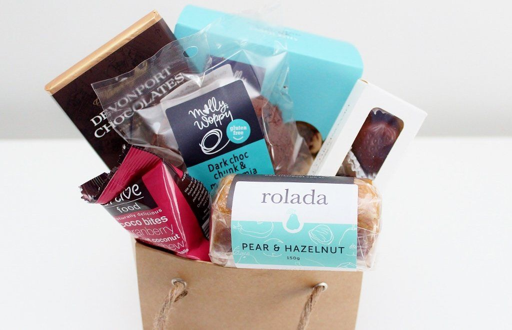 Gluten Free Sweet Treats Hamper with Christmas Chocolate Trio