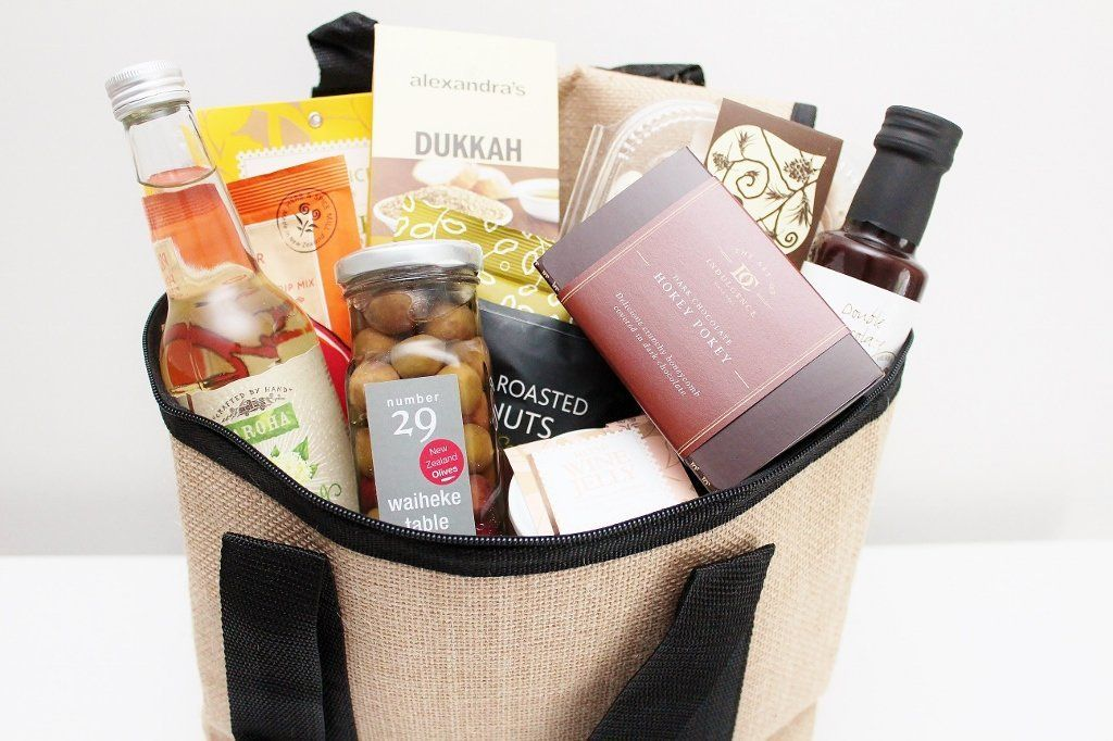 Christmas Food Hamper in a Picnic Cooler | Xmas Gift Hamper | The Gift Loft (NZ)