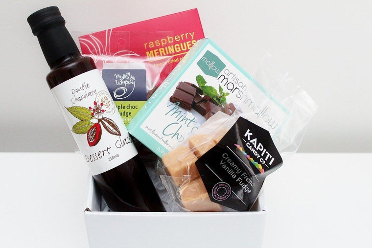 Dessert Sweet Treats Food Hamper | Sweet Treat Gift Basket | The Gift Loft NZ