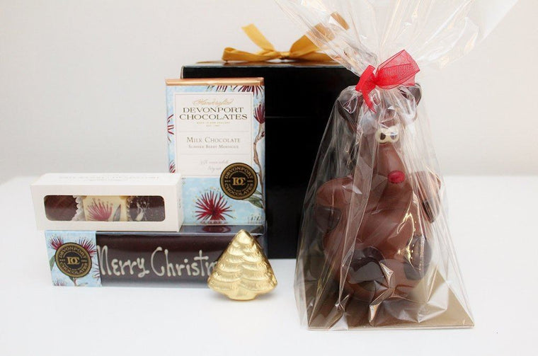 Fun & Festive Christmas Chocolate Hamper | Gluten Free Chocolate Gift | The Gift Loft (NZ)