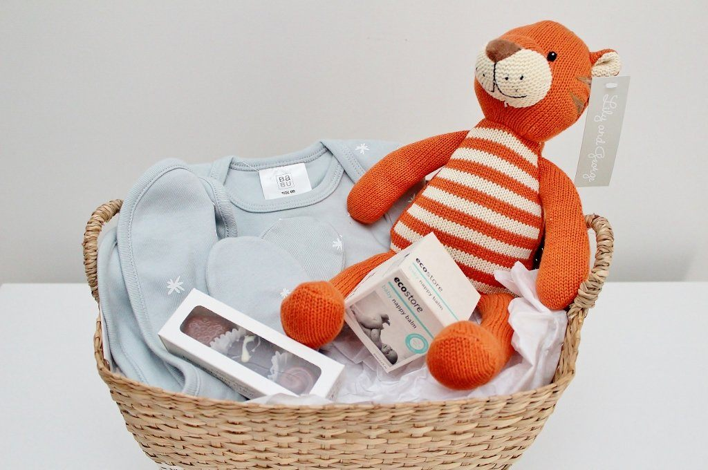 Babu Baby Start Up Gift Hamper | Newborn Baby Boy Gift | The Gift Loft (NZ)