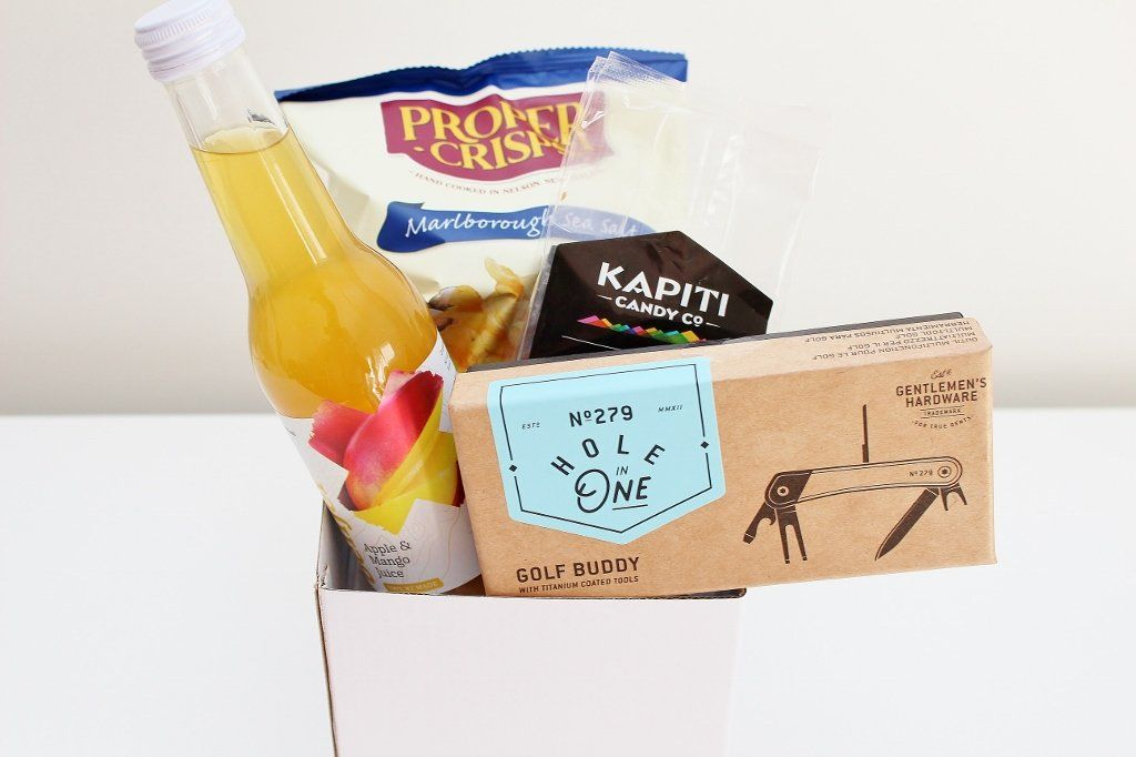 Golfing Hole in One Multi-Tool & Treats Hamper | Golfing Gift | The Gift Loft (NZ)