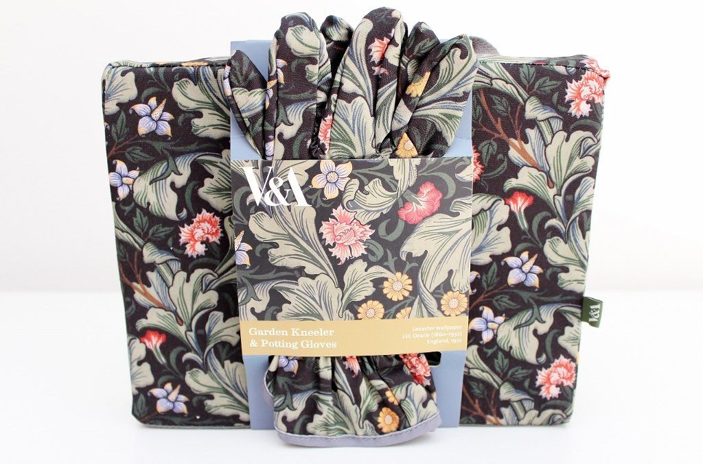 Victoria & Albert Museum Garden Kneeler, Gloves Set | Gardening Gift Idea | The Gift Loft (NZ)