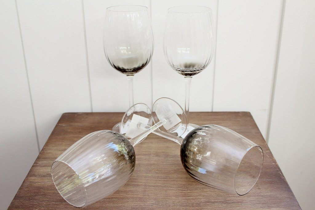 CC Interiors Noire Wine Glass Set | Wedding Gift Idea | The Gift Loft (NZ)