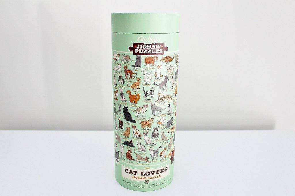 Ridleys Cat Lover's Jigsaw Puzzle | Gift for Cat Lover | The Gift Loft (NZ)