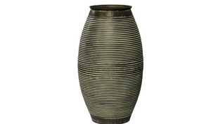 CC Interiors Large Vase in Verdigri Finish