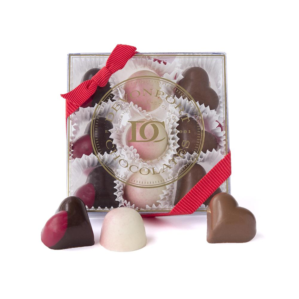 Valentine's Assortment of Nine Chocolates | Valentine's Day Gift | The Gift Loft (NZ)