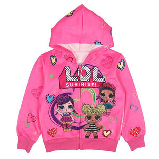 Girls L.O.L Surprise! Hooded Zipper Jacket