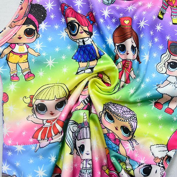 LOL Surprise! Girls Rainbow Color Fancy Dress
