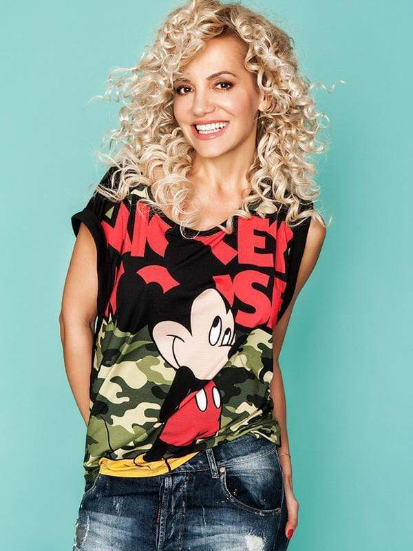 Mickey Mouse Camouflage T-shirt