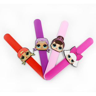 LOL Surprise! Doll Girls Slap Bracelets (4 PCS)