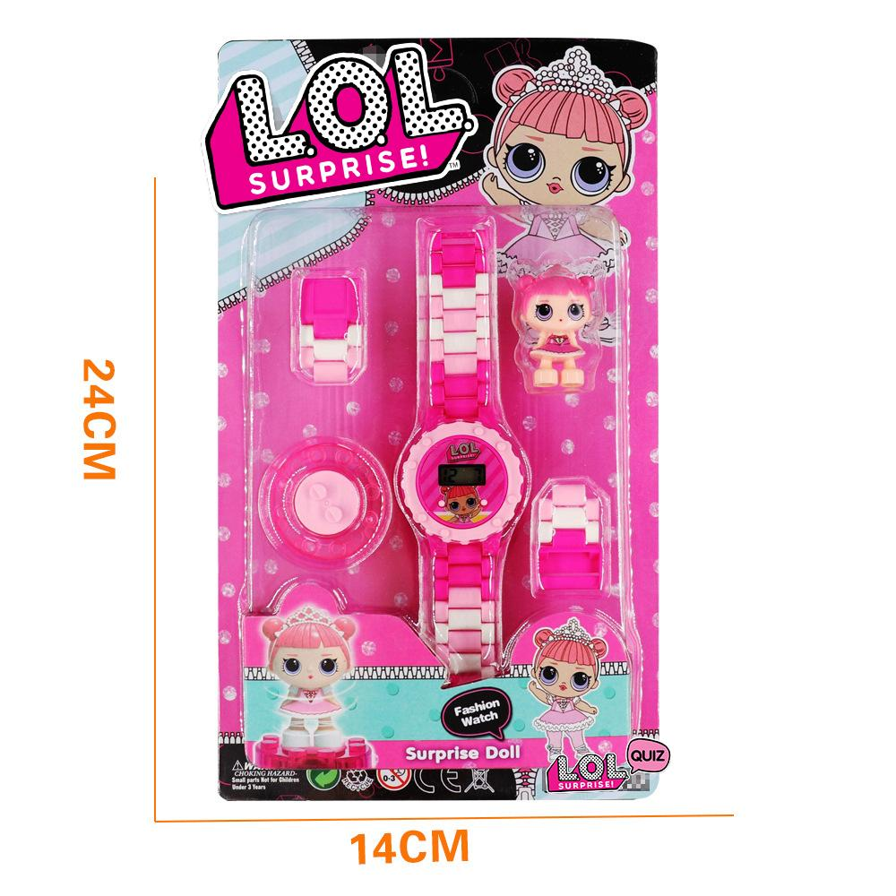 LOL Surprise! Girls Cute Dolls Watch with Toys