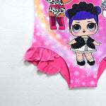 LOL Surprise! Cute Dolls Print Swimsuit