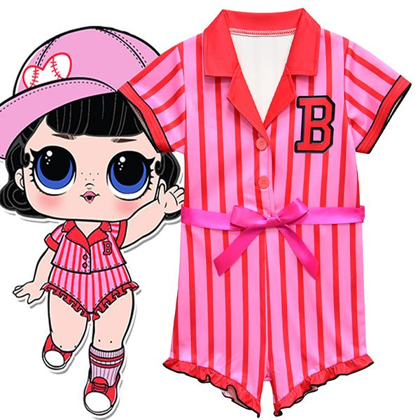 LOL Surprise! Short Sleeveless Girls Cosplay Party Rompers Pajamas
