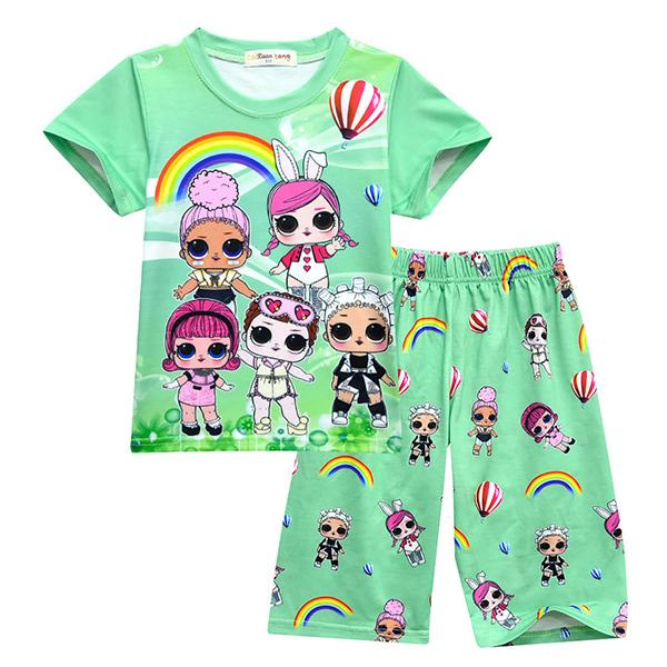 LOL Surprise! Sweety Girls Soft Green Sleepwear Pajamas
