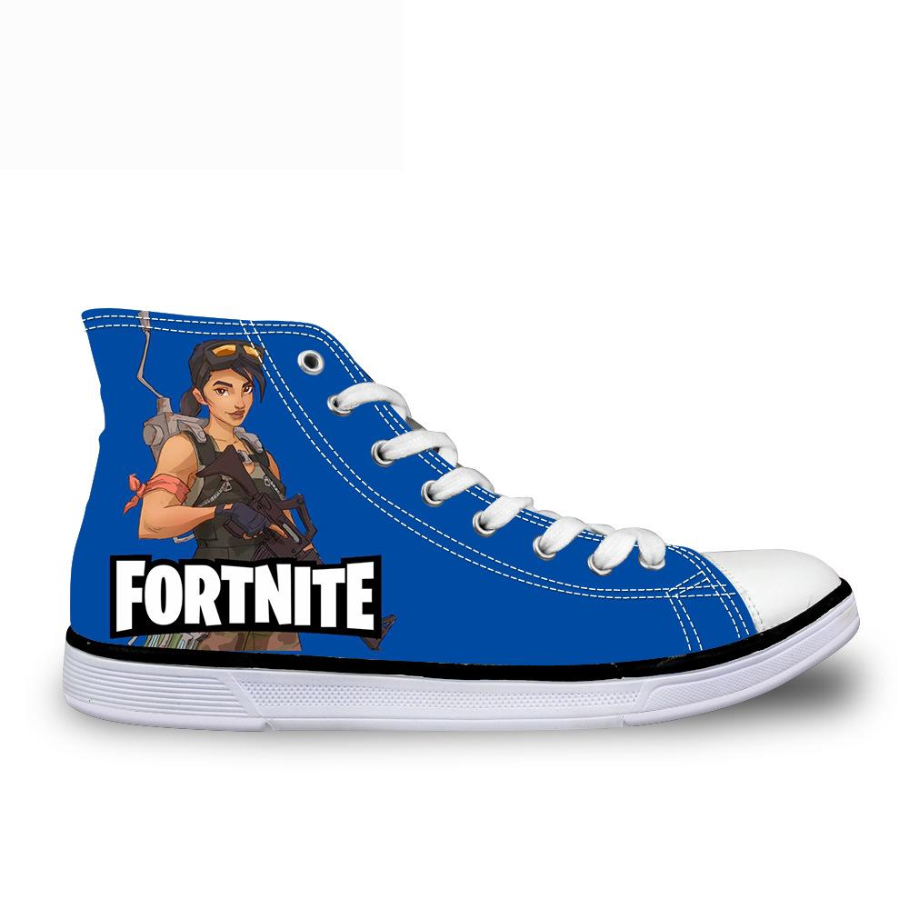 Fortnite Dunk High Canvas Flats For Both Male And Female
