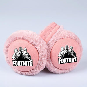 Fortnite Cute Plush Warm Winter Earmuffs