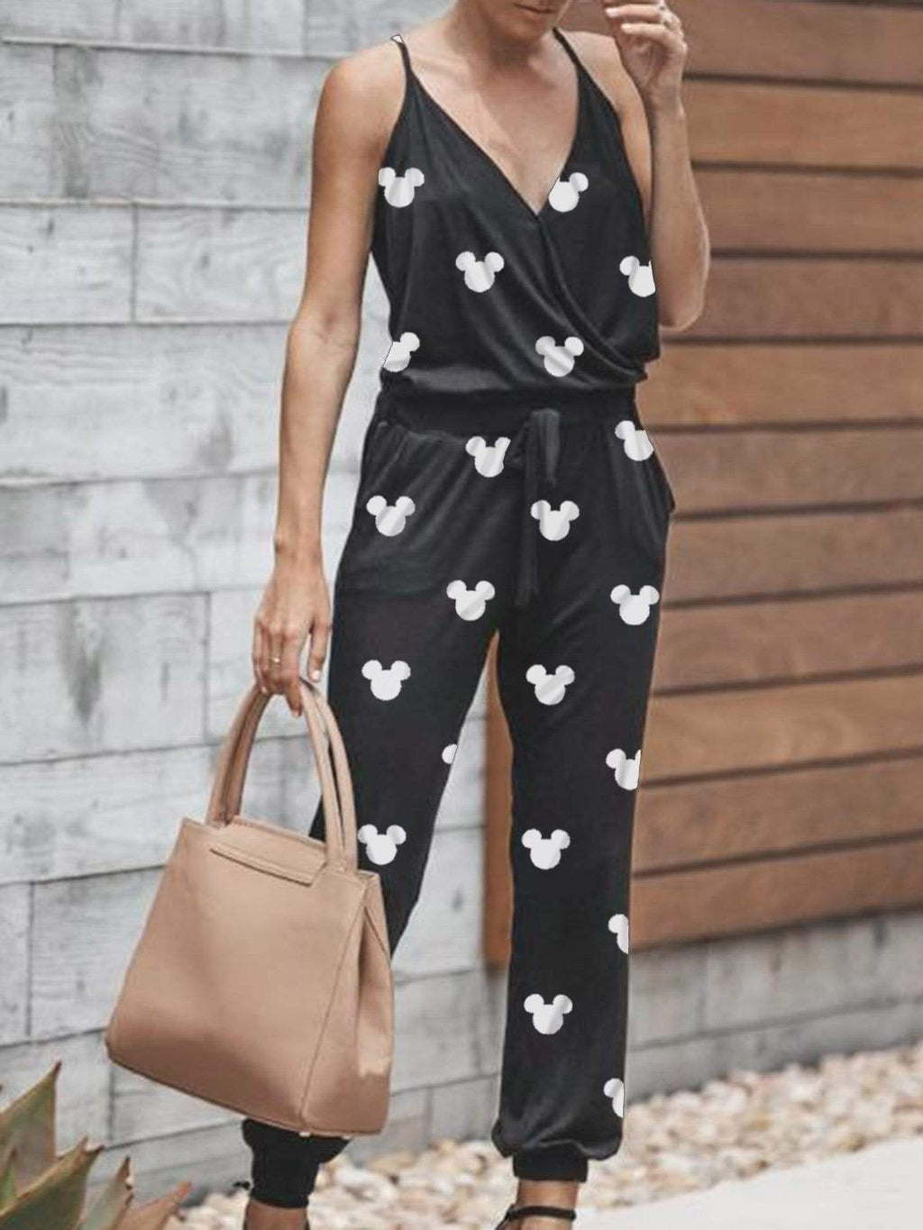 Mickey Mouse Suspenders And Jumpsuits