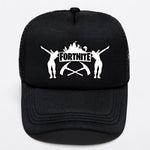 Fortnite Black and White Printed Cap