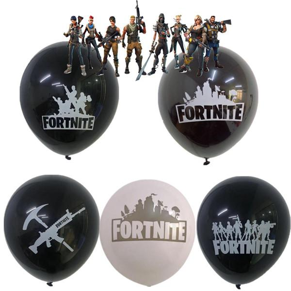 Fortnite Game Fort Night Christmas Balloon 10pcs