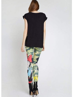 Mickey Printing Leggings