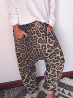 wiccous.com Plus Size Two-Pieces Pants / S LOVE leopard print two-piece suit