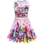LOL Surprise! Adorable Design Girls Soft Sleeveless Dress