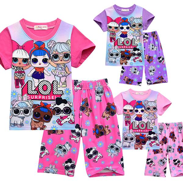 LOL Surprise! Sweety Girls Three Colors Sleepwear Pajamas