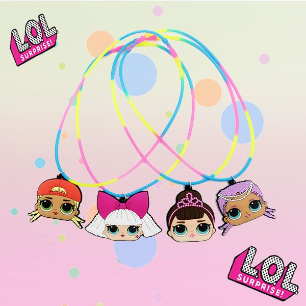 L.O.L Surprise! Doll Girls Necklaces Set (4 PCS)
