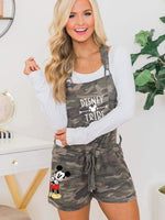 Mickey Mouse camouflage Jumpsuits