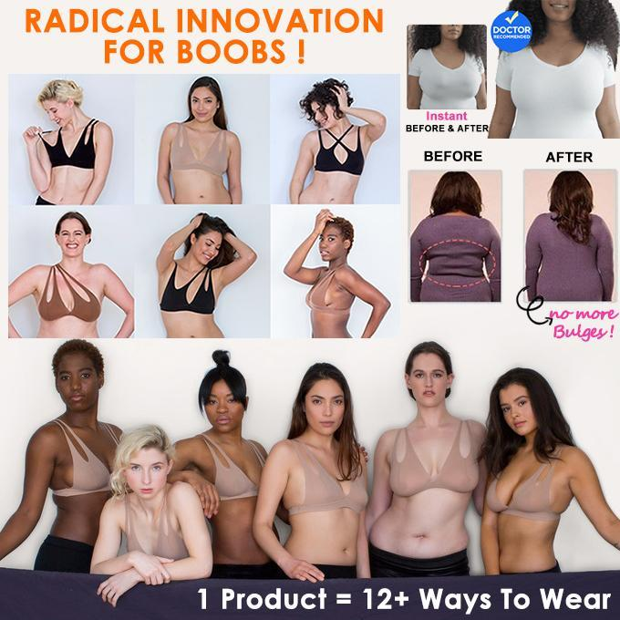 High-Elastic Functional Bra