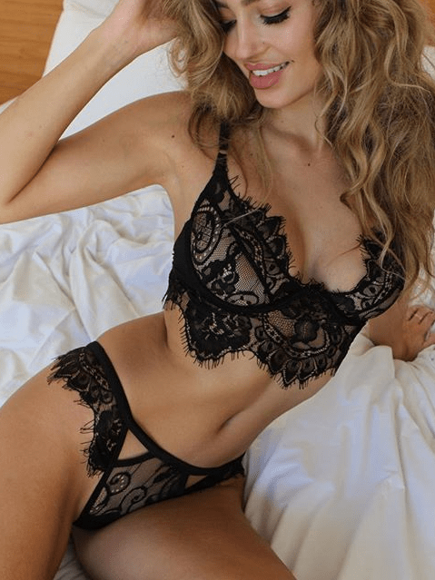 Sexy Lace Underwear Suit