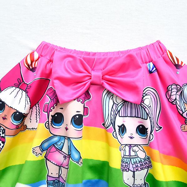 LOL Surprise! Cute Girls Print Two-piece Swimsuit
