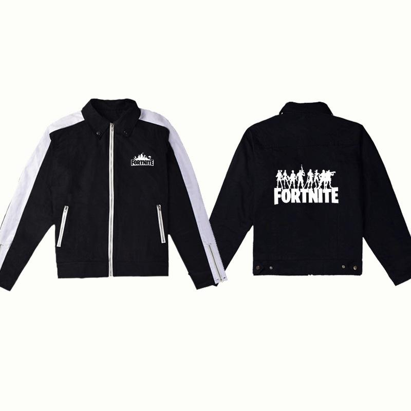 Fortnite Denim Jacket For Kids And Adults