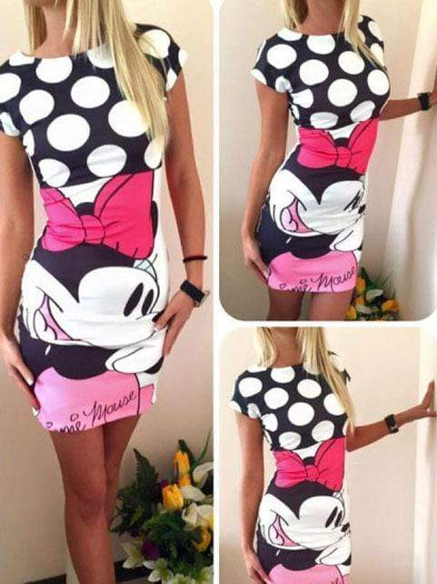 Mickey's slim dress