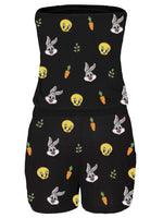 Bugs Bunny Off-The-Shoulder Jumpsuit