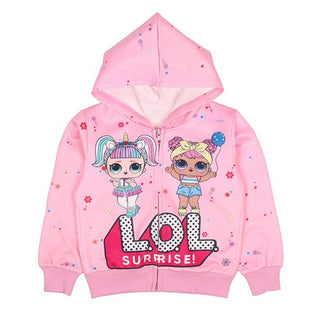 Girls L.O.L Surprise Hooded Zipper Jacket